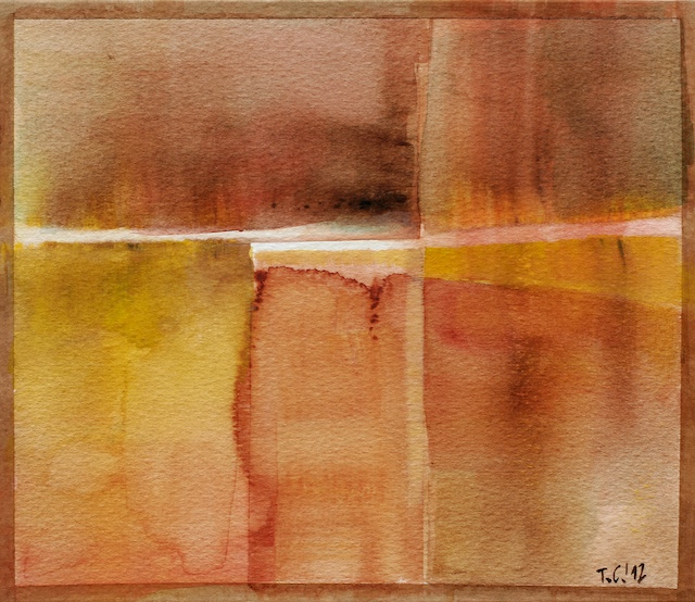Abstract watercolor for sale