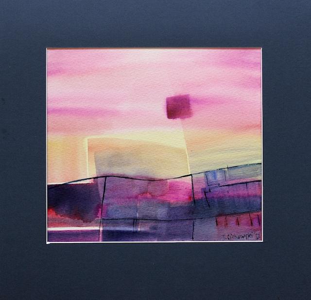 contemporary art abstract watercolor