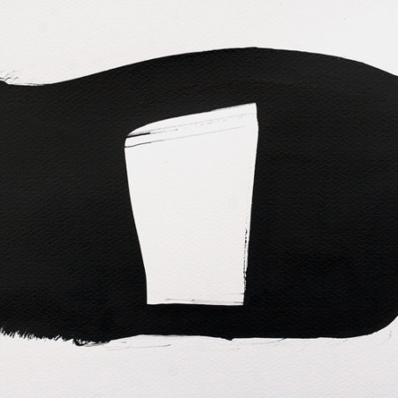 Contemporary small minimalist abstract drawings