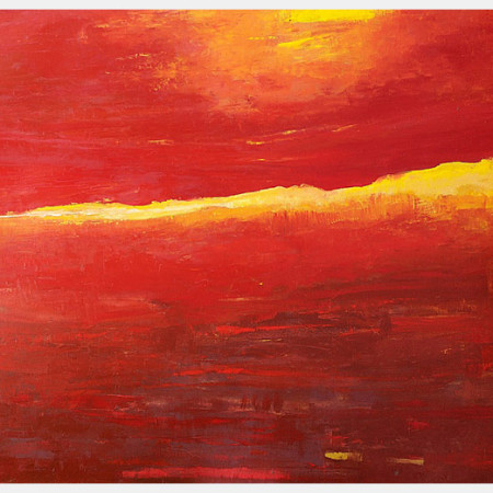 original red paintings for sale