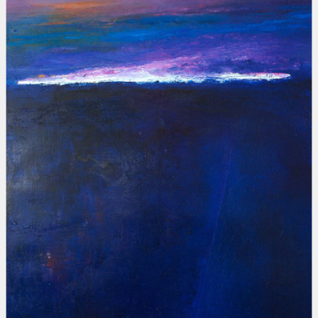 landscape abstract large modern painting