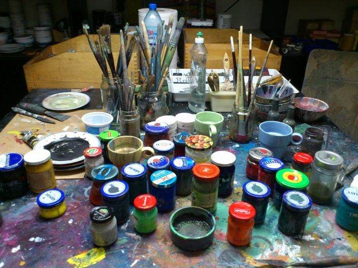 Contemporary Artist Studio