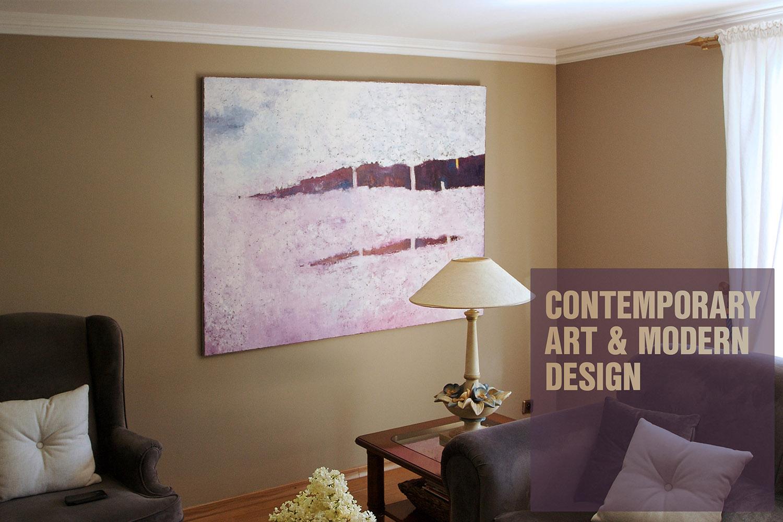 Modern art for minimalist style