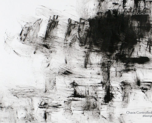 contemporary abstract drawings by Tomasz Cichowski